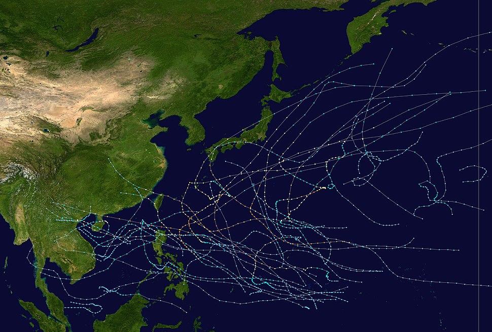 1996 Pacific typhoon season summary