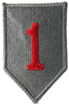 1st ID ACU Full Color Shoulder Sleeve Insignia