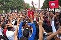 1st of May protest, Avenue Bourguiba, Tunis, Tunisia.jpg