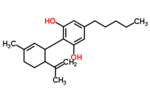 2-(6-Isopropenyl-3-methyl-2-cyclohexen-1-yl)-5-pentyl-1,3-benzenediol.png