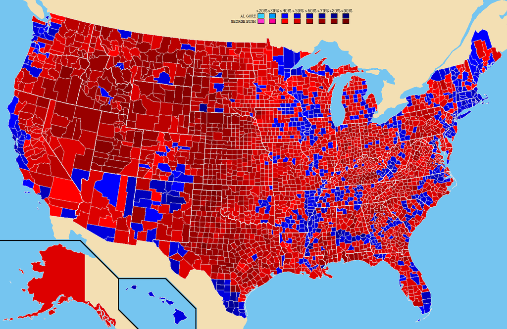 an analysis of the presidential election during the year 2000 Hillary clinton-sponsored advertisements during 2016 presidential  get nastier every year, and this analysis attempted to  2000 presidential election,.
