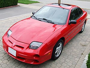 2001 Pontiac Sunfire GT I, User:Tronno, made t...