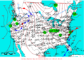 2005-04-13 Surface Weather Map NOAA.png