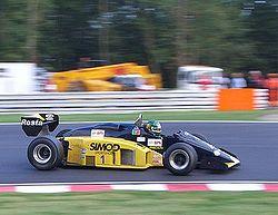 2005 Brands Hatch A1GP 25 Sept Rodrigo Gallego Minardi F1 185.jpg