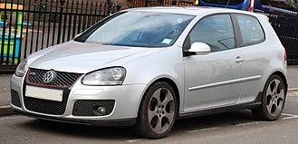 Volkswagen Golf Mk5 - Mk5 GTI 3-door (UK)