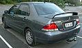 2006-2007 Mitsubishi Lancer (CH MY07) ES Limited Edition sedan 02.jpg