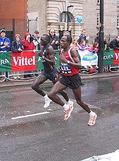Martin Lel Kenyan marathon runner