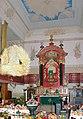20060924065DR Zöblitz Ev Kirche Kanzelaltar Erntedankfest.jpg
