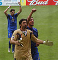2006 FIFA World Cup - Italy - Buffon, Materazzi and Perrotta (edited).jpg