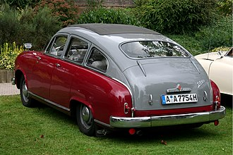 Kammback - 1952 Borgward Hansa 2400