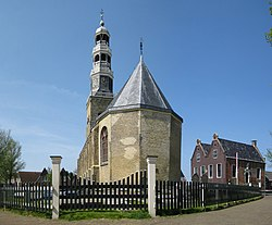 Church and museum in Hindeloopen