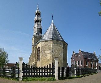 Hindeloopen - Church and museum in Hindeloopen