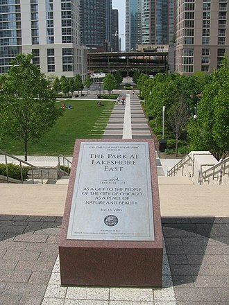Lakeshore East - The Park at Lakeshore East Plaque