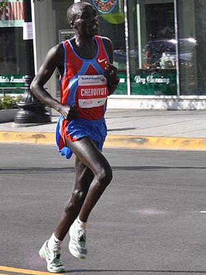 Humarathon - The 2005 men's winner Evans Cheruiyot went on to win the Chicago Marathon.