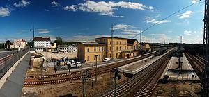 Eberswalde–Frankfurt (Oder) railway - Eberswalde Hauptbahnhof