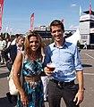 2009-08-18 Leontien Zijlaard-van Moorsel and friend.jpg