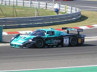 2009 FIA GT Championship - Image: 2009 FIA GT Budapest Car 1 2