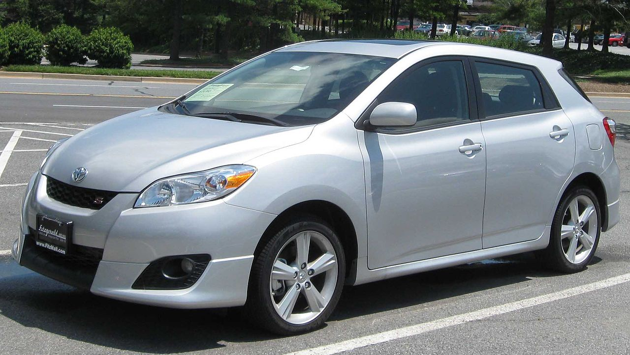 File 2009 Toyota Matrix S Jpg Wikimedia Commons