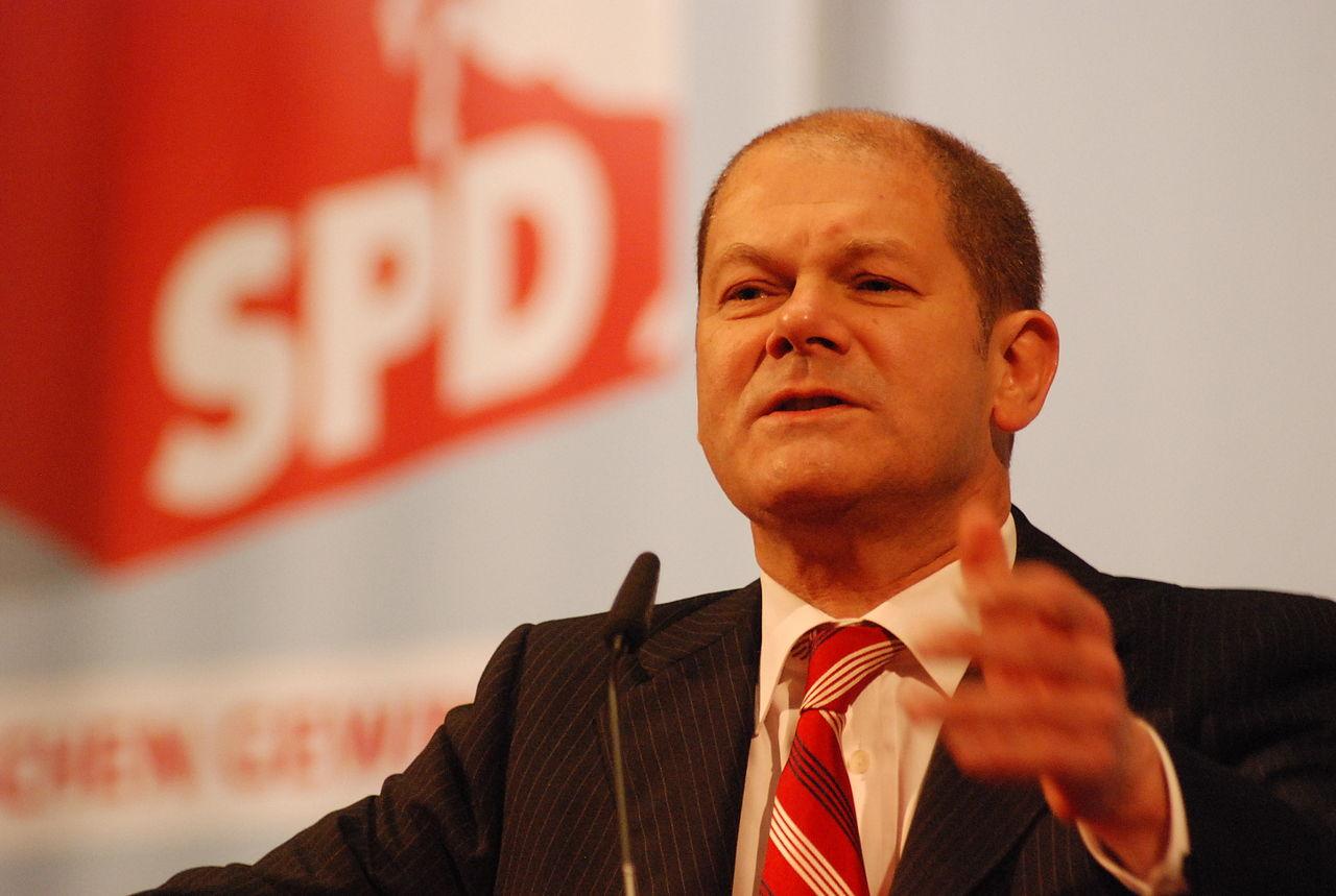 Scholz als SPD-Vize (2010)