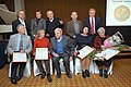 2011 Likhachev Foundation Prize ceremony - Laureats with honorary participants of the ceremony.jpg