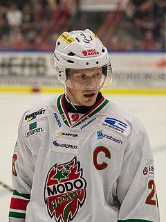 Samuel Påhlsson Swedish ice hockey player