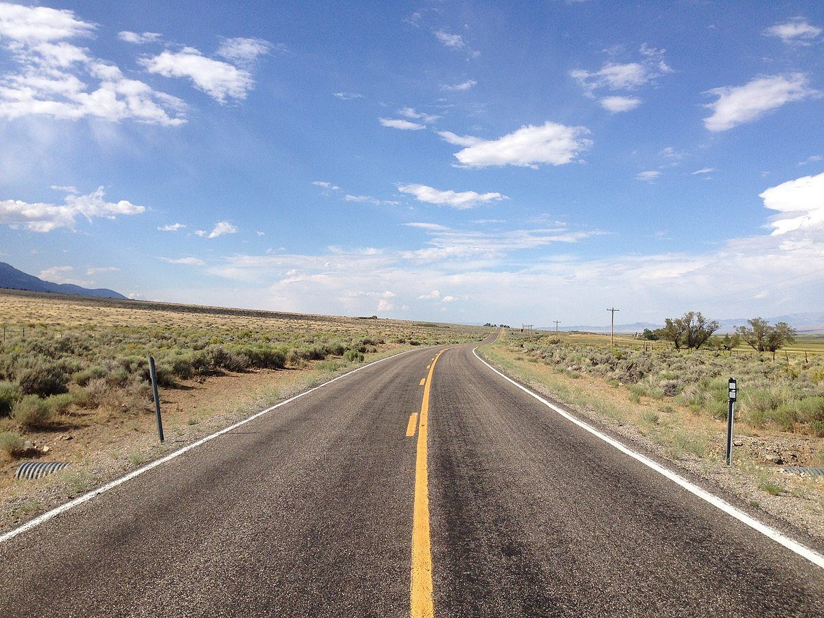File:2014-08-09 16 25 44 View north along Nevada State ...