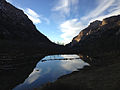 2014-11-11 15 44 12 View northwest across a beaver pond along the Changing Canyon Trail in Lamoille Canyon, Nevada.JPG