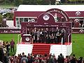 2014 Hippodrome de Longchamps remise du Prix de l arc de triomphe 94eme edition Qatar.JPG