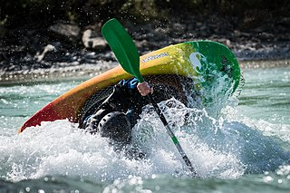Canoe freestyle Discipline of whitewater kayaking or canoeing