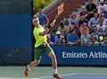 2015 US Open Tennis - Qualies - Guilherme Clezar (BRA) def. Nicolas Almagro (ESP) (12) (21160183601).jpg