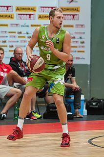 Jaka Blažič Slovenian basketball player
