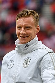 20180602 FIFA Friendly Match Austria vs. Germany Bernd Leno 850 0646.jpg