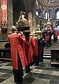 20180602 Maastricht Heiligdomsvaart, reliekentoning OLV-basiliek 05.jpg