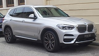BMW X3 Motor vehicle