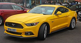 New Ford Mustang 2019 Convertible Coupe Ford Uk >> Ford Mustang Sixth Generation Wikipedia