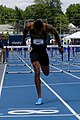 2018 USATF Outdoor National Championships SPC Marcus Maxey- first round of the men's 110m hurdles (28107471837).jpg