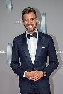 Jochen Schropp German actor and television presenter