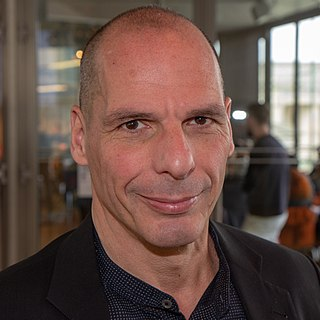 Yanis Varoufakis Greek politician and economist