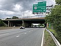 2019-05-27 12 44 27 View east along the inner loop of the Capital Beltway (Interstate 495) at Exit 30A (U.S. Route 29 North-Colesville Road, Columbia) on the edge of Four Corners and Silver Spring in Montgomery County, Maryland.jpg