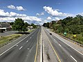 2019-08-25 15 48 12 View east along U.S. Route 40 (Pulaski Highway) from the overpass for Maryland State Route 700 (Martin Boulevard) on the edge of Middle River and Rossville in Baltimore County, Maryland.jpg
