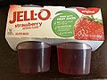2019-10-10 22 12 08 A packet of Jell-O strawberry gelatin snacks in the Franklin Farm section of Oak Hill, Fairfax County, Virginia.jpg