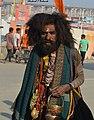 2019 Prayagraj Kumbh Mela - a Very Intoxicated Sadhu.jpg