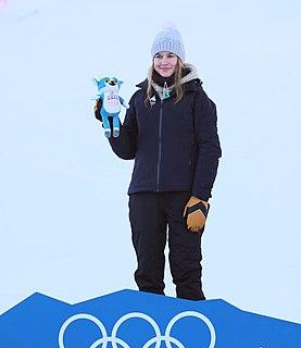 Kelly Sildaru Estonian freestyle skier