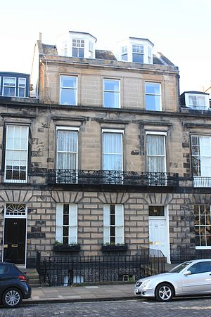 Thomas Mackenzie, Lord Mackenzie - 24 Heriot Row, Edinburgh
