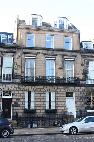 Thomas Brash Morison, Lord Morison - 24 Heriot Row, Edinburgh