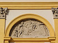 281012 Mythological scene as a bas-relief on the western facade of the Wilanów Palace - 06.jpg
