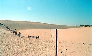 Słowiński National Park - Moving dunes