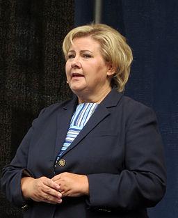 31.08.2013, Erna Solberg.2