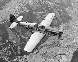 157th Air Refueling Wing - P-51C-10-NT Mustang 42-103896 311th Fighter Group, 14th Air Force Mustang escorting C-47's over China on 24 July 1945