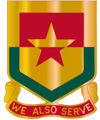 313th Cavalry Regiment (United States) - Image: 313th Cavalry Regiment DUI